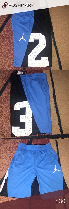9fc55fe403f Boys Nike Jordan shorts youth medium NWT New with tag. Dri-fit polyester  shorts with side pockets and drawstring waist. Please check my other  listings.