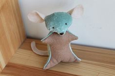 tooth  mouse Tooth Mouse, Dinosaur Stuffed Animal, Toys, Pattern, Fabric, Animals, Activity Toys, Tejido, Tela