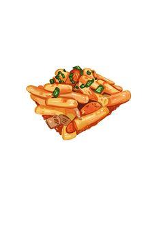 #떡볶이 #음식 #food #korean #한국   #draw #drawing #fastpaint #digital #일러스트 #일러스트레이션 #그림