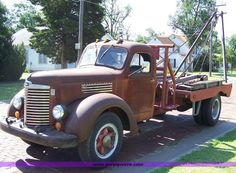 27 Best Vintage - Winch Trucks images in 2017 | Tow Truck, Big rig