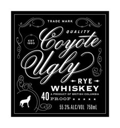 Whiskey + Bourbon Labels