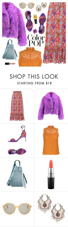 """Go Bold: Statement Coats"" by sproetje ❤ liked on Polyvore featuring Etro, Brian Atwood, Le Ciel Bleu, Loewe, MAC Cosmetics, STELLA McCARTNEY, Alexander McQueen, OPI, ootd and WhatToWear"