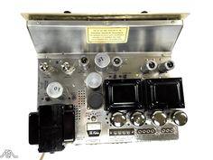 Restored Fisher KX-200 vintage tube amplifier. www.aeaaudio.com #audiophile #tubeamp Radios, Audiophile, Fisher, Restoration, Tube, Electronics, Vintage, Vintage Comics, Primitive