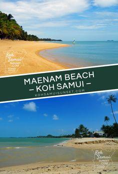 Koh Samui Maenam Beach: The pros and cons of staying on Maenam Beach // #Samui #Thailand // http://www.kohsamuisunset.com/maenam-beach/