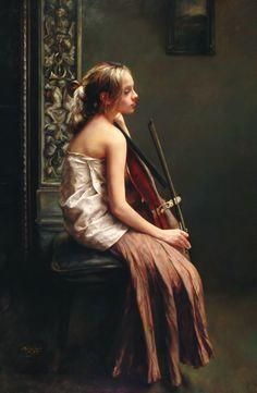 Zhao Kailin - Portrait of Jenny