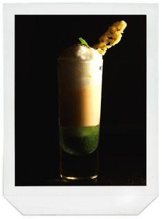 sooishi: Blog appétit # 07 Espuma de Chou-fleur, velouté de volaille et coulis de basilic.