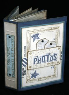Scraplaflus' Mini Album Photos Plus Album Photo Scrapbooking, Mini Scrapbook Albums, Scrapbook Journal, Scrapbook Pages, Scrapbook Layouts, Mini Album Scrap, Baby Mini Album, Mini Albums Photo, Tutorial Scrapbook