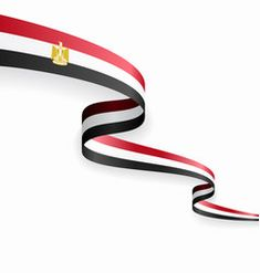 Egypt flag on white background Royalty Free Vector Image Powerpoint Background Design, Poster Background Design, Vector Background, Free Vector Images, Vector Free, Abstract Backgrounds, Wallpaper Backgrounds, Wallpapers, Egyptian Flag