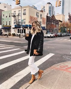 """1,827 Likes, 11 Comments - Viktoria Dahlberg (@viktoria.dahlberg) on Instagram: """"Changes outfit 27 times - Goes with first option #ootd #nyc"""""""