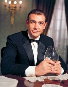 """Bond - James Bond"" Sean Connery as James Bond in Dr. No 1962  Classic!"