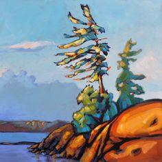 Canadian Painting New Release by Jerzy Werbel www.werbeland.ca