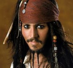 Captain Jack Sparrow (Pirates of the Caribbean). I got sensitive and idealistic