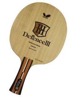 e3f5070e5426 F S Butterfly Table Tennis Racket Defense III FL 36491 Made in Japan   Butterfly