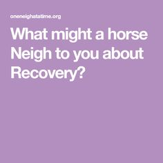 Recovery is a journey with many ups and downs. At first, you may feel raw and vulnerable; You are on a rollercoaster ride of emotions. When it gets crazy, you may have the urg. Recovery, Horses, Survival Tips, Healing, Horse
