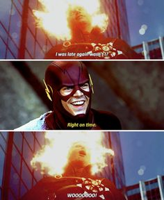 "#TheFlash 2x01 ""The Man Who Saved Central City"""