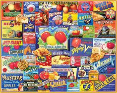 An Apple A Day.  1000 Piece Jigsaw Puzzle by White Mountain Puzzles