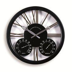 modern outdoor clocks and thermometers | Doddleston Contemporary Garden Clock - Garden Ornaments Direct