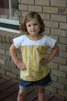 Oliver + S Ice Cream blouse