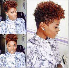 10 Natural Hair Women Rocking Amazing Tapered Cuts [Gallery] - Black Hair Information - June 08 2019 at Natural Short Cuts, Natural Hair Cuts, Short Hair Cuts, Natural Hair Styles, Natural Tapered Cut, Tapered Twa, Short Natural Black Hair, Tapered Haircut Natural Hair, Short Natural Hairstyles