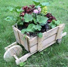 pallet garden crafts