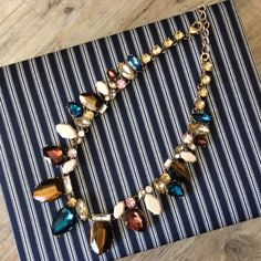 Statement Necklace Beautiful and bold, completely ready for any occasion to shine brightly. Ocean Jewelers Jewelry