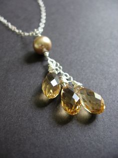 swarovski beaded necklace