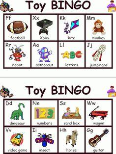 Toy ABC Bingo | Edworld Exchange | Where Educators Buy and Sell Resources