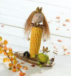 tvoření z kukuřice - panenka