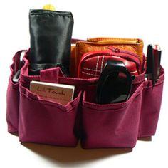 Pochette organisateur pour sac à main