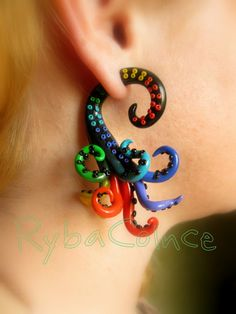 Fake ear tentacle gauge... ya know just in case u cant get them