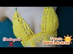 Barrado em Crochê Tulipa | Professora Simone Eleotério - YouTube