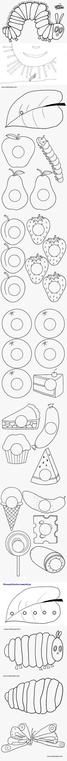 Mejores 307 imágenes de la oruga glotona en Pinterest en 2018 | Eric ...