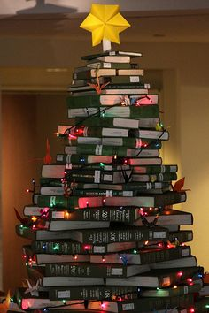 I don't think I'd ever be able to have a tree like this, I'd keep taking it apart to read what it's made of