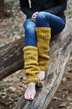 {New Fall Pattern #5} Dignity Leg Warmer Knitting Pattern by Brome Fields
