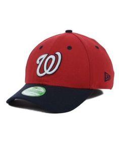 New Era Washington Nationals Team Classic 39THIRTY Kids' Cap or Toddlers' Cap - Red/Navy Toddler