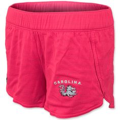 South Carolina Gamecocks Under Armour Ladies Running Shorts - Neon Pink #gamecocks