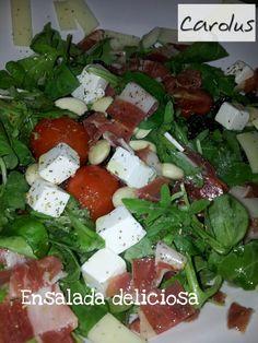 Carolus Cocina: Ensalada Deliciosa
