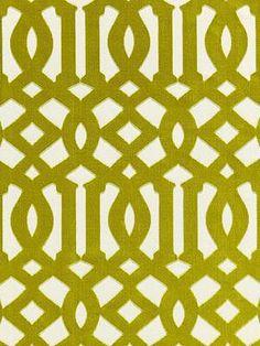 DecoratorsBest - Detail1 - Sch 65591 - Imperial Trellis Velvet - Chartreuse - Fabrics - DecoratorsBest