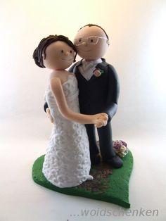 Tortenfigur Brautpaar tanzend