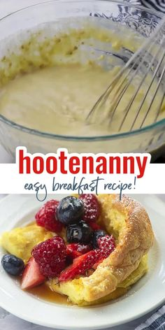 Hootenanny is the perfect breakfast for busy moms with hungry kids! No bread needed, but this breakfast recipe has a total French toast vibe the kids love. Plus, it's fun to watch it bake up into crazy shapes! What's For Breakfast, Perfect Breakfast, Breakfast Recipes, Tostadas, French Toast Bake, Waffle Recipes, Evening Meals, Dinner Dishes, Food Videos