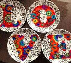 Decorative Plates, Tableware, Home Decor, Deep Dish, Ceramic Painting, Decorative Objects, Made By Hands, Painted Porcelain, Dinnerware