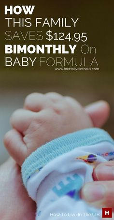 Becoming a parent comes with great responsibility. On of those responsibilities is a financial one. Baby formula is a regular expense and could become pretty costly overtime. This article is on how a family saves $124.95 bimonthly on formula expenses. www.howtoliveinth...