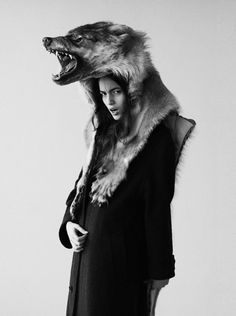 I'm quite taken with the wolf hat of late.