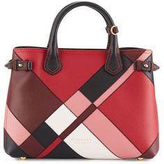 Burberry Banner Medium Patchwork #handbags