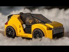 LEGO tutorial for Speed Champions URBAN E - CAR moc. - YouTube