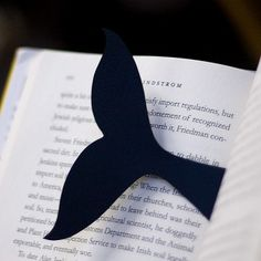 Whale Bookmark - no link. (really don't need instructions, do you?!)