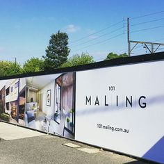 The hoarding for 101 Maling in Canterbury has now been installed with construction about to commence. The Yoke team's behind the brand, marketing collateral and the website. Check out the website here: http://101maling.com.au. #Property #Design #Branding