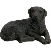 Found it at Wayfair - Mid Size CuriousLabrador Retriever Sculpture in Black