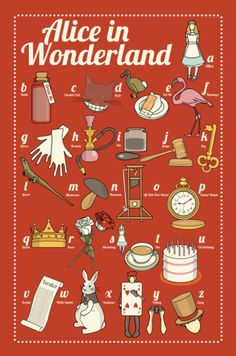 Alice in Wonderland: the illustrated ABC