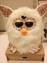 Holiday Bling Swarovski Edition Furby 2012 White Pink | eBay